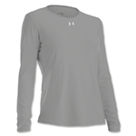 Under Armour Women's Locker Long Sleeve T-Shirt (Gray)