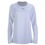 Under Armour Women's Locker Long Sleeve T-Shirt (White)