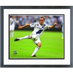 LA Galaxy Landon Donovan Double Matted and Framed Photo