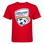 Adelaide United Kids T-Shirt (Red)