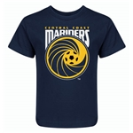 Central Coast Mariners Kids T-Shirt (Navy)