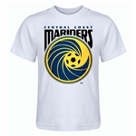 Central Coast Mariners Kids T-Shirt (White)