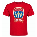 Newcastle Jets Kids T-Shirt (Red)