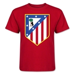Atletico Madrid Crest Kids T-Shirt (Red)