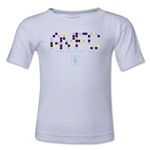 Aston Villa Pixel Graphic Kids T-Shirt (White)