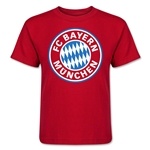 Bayern Munich Kids T-Shirt (Red)