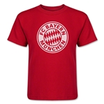Bayern Munich Halftone Kids T-Shirt (Red)