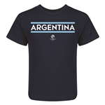 Argentina Copa America 2016 Kids Country T-Shirt (Navy)