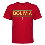 Bolivia Copa America 2016 Kids Country T-Shirt (Red)