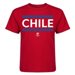 Chile Copa America 2016 Kids Country T-Shirt (Red)
