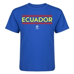 Ecuador Copa America 2016 Kids Country T-Shirt (Royal)
