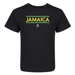Jamaica Copa America 2016 Kids Country T-Shirt (Black)