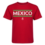 Mexico Copa America 2016 Kids Country T-Shirt (Red)