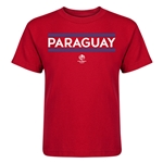 Paraguay Copa America 2016 Kids Country T-Shirt (Red)