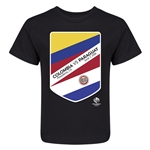 Colombia vs Paraguay Copa America 2016 Kids Matchup T-Shirt (Black)