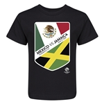 Mexico vs Jamaica Copa America 2016 Kids Matchup T-Shirt (Black)