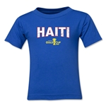 Haiti CONCACAF Gold Cup 2015 Kids Big Logo T-Shirt (Royal)