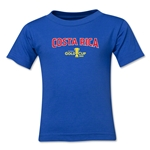 Costa Rica CONCACAF Gold Cup 2015 Kids Big Logo T-Shirt (Royal)