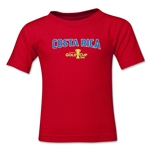 Costa Rica CONCACAF Gold Cup 2015 Kids Big Logo T-Shirt (Red)
