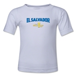 El Salvador CONCACAF Gold Cup 2015 Kids Big Logo T-Shirt (White)