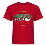 Mexico Gold Cup Celebration Kids T-Shirt (Red)