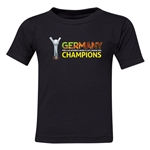 Germany FIFA U-20 Women's World Cup Canada 2014 Champions Kids T-Shirt (Black)