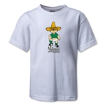 1970 FIFA World Cup Juanito Mascot Kids T-Shirt (White)