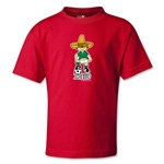 1970 FIFA World Cup Juanito Mascot Kids T-Shirt (Red)