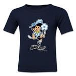 1978 FIFA World Cup Guachito Mascot Kids T-Shirt (Navy)