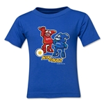2002 FIFA World Cup Kaz & Nik Mascot Kids T-Shirt (Royal)