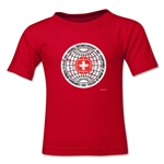 1954 FIFA World Cup Kids Emblem T-Shirt (Red)
