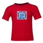 1966 FIFA World Cup Kids Emblem T-Shirt (Red)