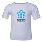 1970 FIFA World Cup Kids Emblem T-Shirt (White)