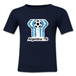 1978 FIFA World Cup Kids Emblem T-Shirt (Navy)