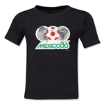 1986 FIFA World Cup Kids Emblem T-Shirt (Black)