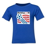 1994 FIFA World Cup Kids Emblem T-Shirt (Royal)