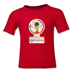 2002 FIFA World Cup Kids Emblem T-Shirt (Red)