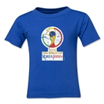 2002 FIFA World Cup Kids Emblem T-Shirt (Royal)