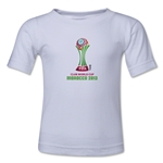 FIFA Club World Cup Morocco 2013 Kids Official Emblem T-Shirt (White)