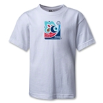 FIFA U-20 World Cup Turkey 2013 Kids Emblem T-Shirt (White)