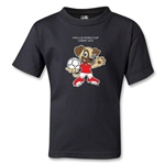 FIFA U-20 World Cup Turkey 2013 Kids Mascot T-Shirt (Black)