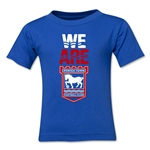 Ipswich Town We Are Kids T-Shirt (Royal)