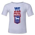 Ipswich Town We Are Kids T-Shirt (White)