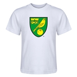 Norwich City Core Kids T-Shirt (White)