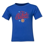 FC Santa Claus Pride of Finland Kid's T-Shirt (Royal)