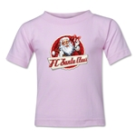 FC Santa Claus Animated Santa Kid's T-Shirt (Pink)