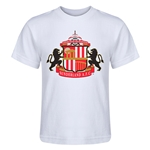 Sunderland Core Kids T-Shirt (White)