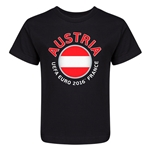 Austria Euro 2016 Core Kid's T-Shirt (Black)