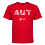 Austria Euro 2016 Elements Kid's T-Shirt (Red)
