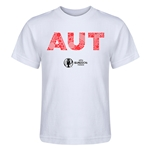 Austria Euro 2016 Elements Kid's T-Shirt (White)